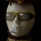 White Mannequin Speak With Forked Tongue by Randy Turnbow