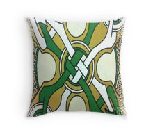 DAY 111 -  (365 DAY PROJECT - 'ONE DAY AT A TIME')  CELTIC DESIGN   Throw Pillow