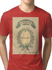 The best lies of men  Tri-blend T-Shirt