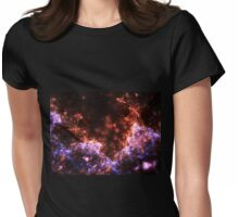Fireworks - Abstract Fractal Artwork Womens Fitted T-Shirt