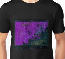 USGS TOPO Map Alaska AK Mount McKinley 361201 1958 250000 Inverted Unisex T-Shirt