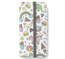 Dinosaurs and Unicorns iPhone Wallet/Case/Skin