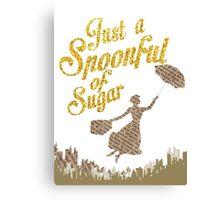 Spoonful of sugar Canvas Print
