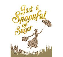 Spoonful of sugar Photographic Print