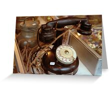 Phone Rue Cler Greeting Card