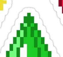 Sims Plumbob 8-bit Sticker