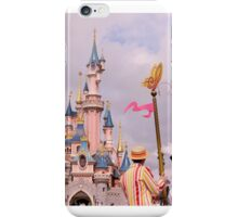 Sleeping Beauty's Castle With Mary and Bert iPhone Case/Skin