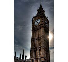 Big Ben Tower Photographic Print