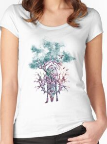 Heart of the forest Women's Fitted Scoop T-Shirt
