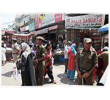 Police Presence in Charminar Poster