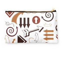 Arrows in Cave Painting Studio Pouch