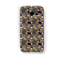 Retro 50s abstract Samsung Galaxy Case/Skin