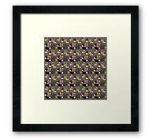 Retro 50s abstract Framed Print