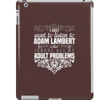 adult problems iPad Case/Skin