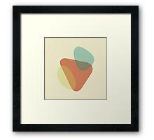 FLUID IX Framed Print