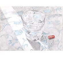 The red pill Photographic Print
