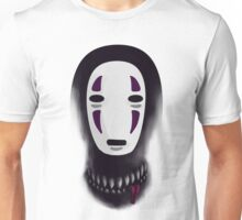 No face - What lies beneath the mask Unisex T-Shirt
