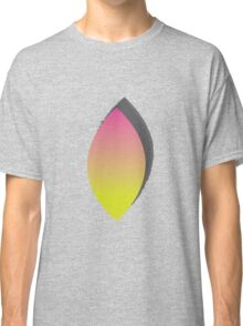 Through the Sunset Leaf Window Classic T-Shirt
