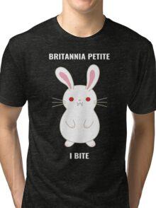 Britannia Petite - I Bite Tri-blend T-Shirt