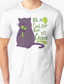 Green Kitty! Unisex T-Shirt