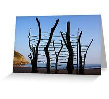 Land Art-Jappa Greeting Card