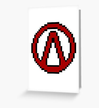 Vault Symbol Greeting Card