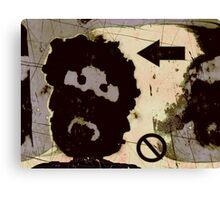 the incongruous misfit Canvas Print