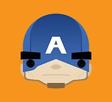 Captain America by BeBeaman