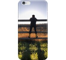 A Boy and the Fence iPhone Case/Skin