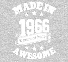 Made In 1966 50 Years Of Being Awesome, Birthday Gift T-Shirt Unisex T-Shirt