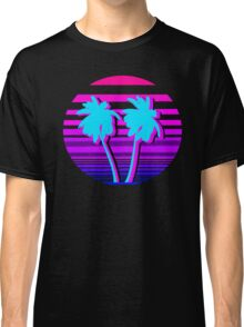 Aesthetic Palm trees Classic T-Shirt