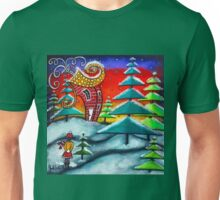 The Snowball Fight Unisex T-Shirt