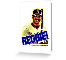 Reggie!  Greeting Card