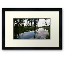 Willow River Framed Print