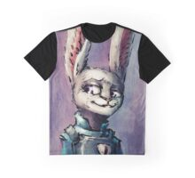 Officer Bunny Graphic T-Shirt