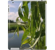 willow over river norwich iPad Case/Skin