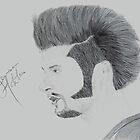 Jensen Ackles by LazarusRisin Art