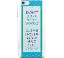 I don't just read book - Mermaid  iPhone Case/Skin