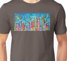 Winter In The City Unisex T-Shirt