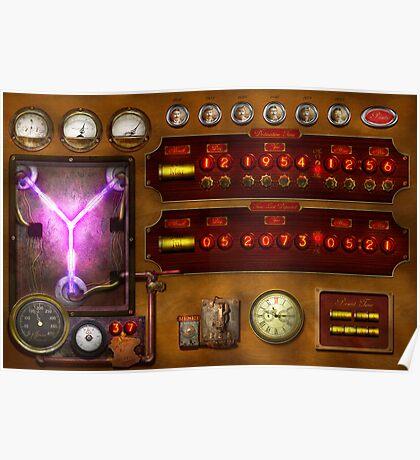Steampunk - Temporal Flux Poster