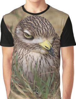 Burhinus oedicnemus  Graphic T-Shirt