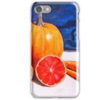 Pumpkin, Grapefruit, Carrots iPhone Case/Skin
