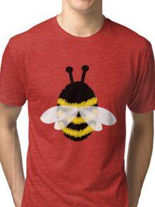 Bumble bee on blue... Tri-blend T-Shirt
