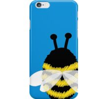 Bumble bee on blue... iPhone Case/Skin