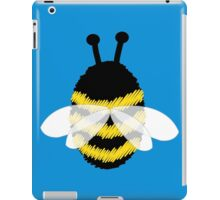Bumble bee on blue... iPad Case/Skin