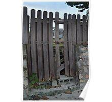 Old Fort Bay, Fence Poster