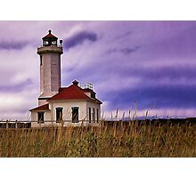 Point Wilson Lighthouse Photographic Print