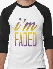 Faded multi 2 Men's Baseball ¾ T-Shirt