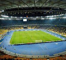 Football stadium by Alexandr Gusev