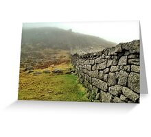 Hare's Gap, Mourne Mountains, Northern Ireland Greeting Card